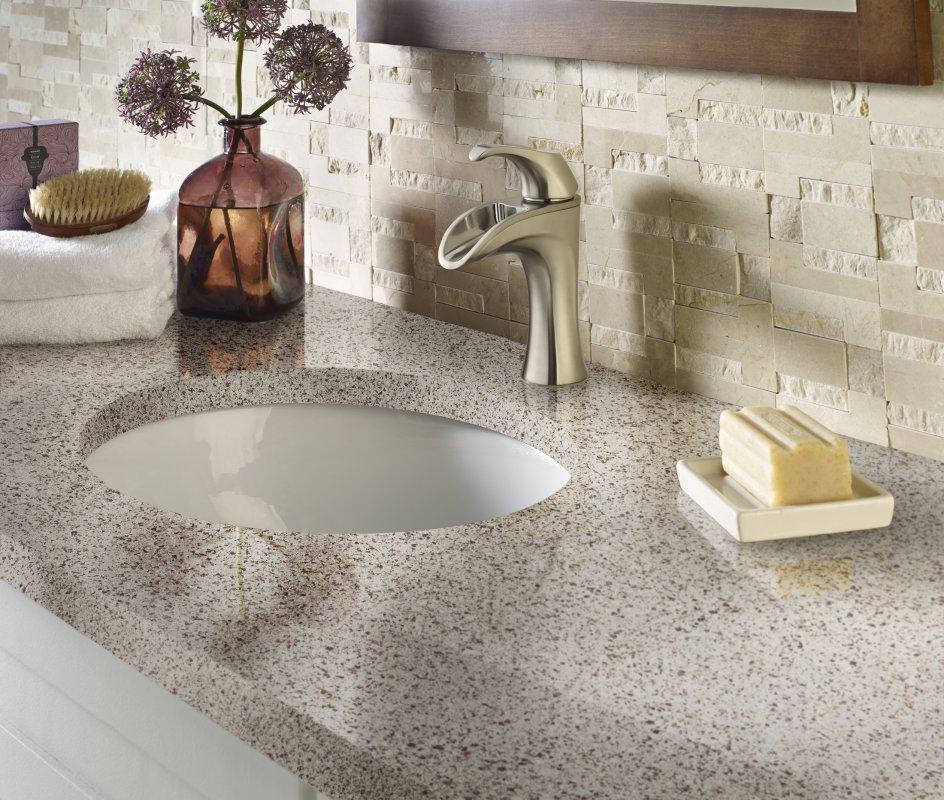 Corian® Quartz Bathroom