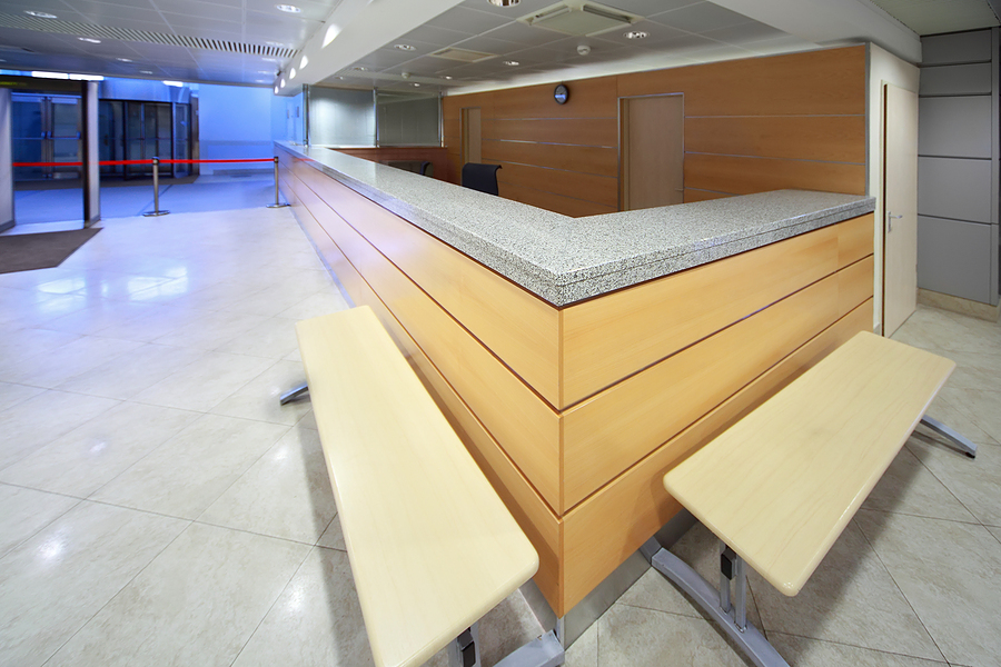 Lovely Commercial Counter Tops | GW Surfaces RE14
