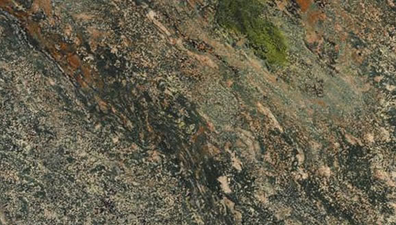 Verde Fire Granite Color Sample