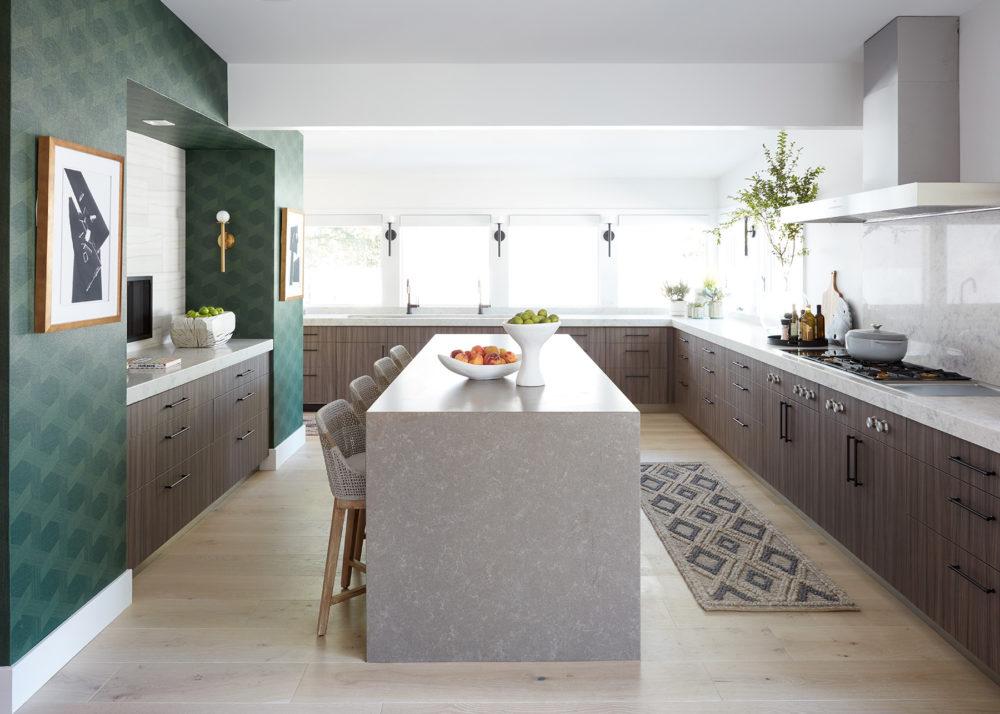 Corian® Quartz Kitchen Countertop