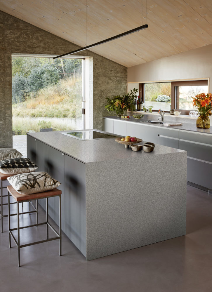 Corian® Solid Surface Kitchen Countertop