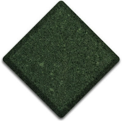 Absolute Green Silestone Color Sample