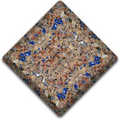 Blue Sahara  Silestone Color Sample