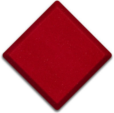 Red Eros  Silestone Color Sample