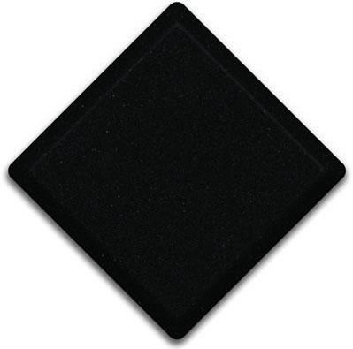 Tebas Black  Silestone Color Sample