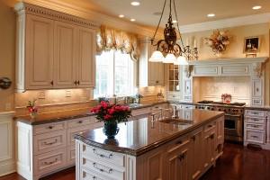 Luxury Kitchen Granite Counter Tops