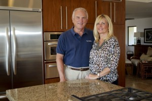 Jim & Georgann Garver, Owners of GW Surfaces