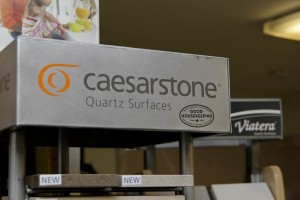 Caesarstone Ceasarstone Quartz Surfaces Display