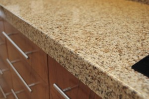 Closeup of Granite Counter top in Ventura County Luxury Home